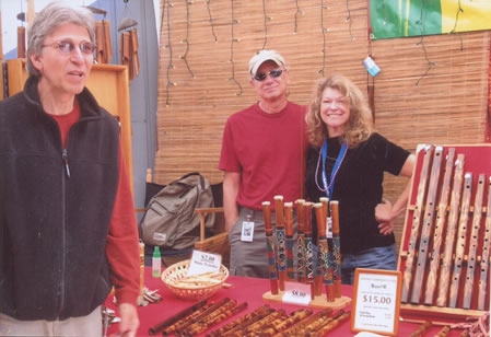 Linda, Nick and Jim at the 'Big E'.